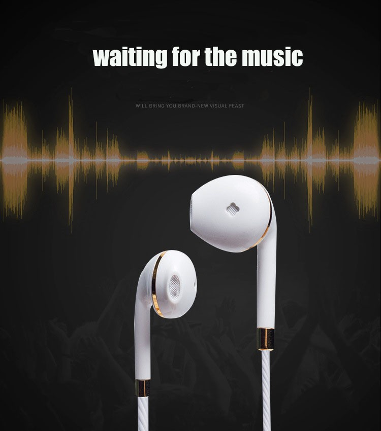 New in-ear earphone for iphone 5s 6s 5 xiaomi bass earbud headset Stereo Headphone For Samsung sony earpiece wired audifonos CR1