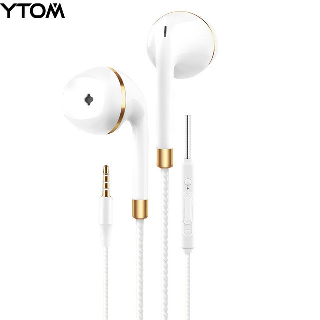 Fashion Design New in-ear earphone for iphone 5s 6s 5 xiaomi bass earbud headset Stereo Headphone For Samsung sony earpiece wired audifonos