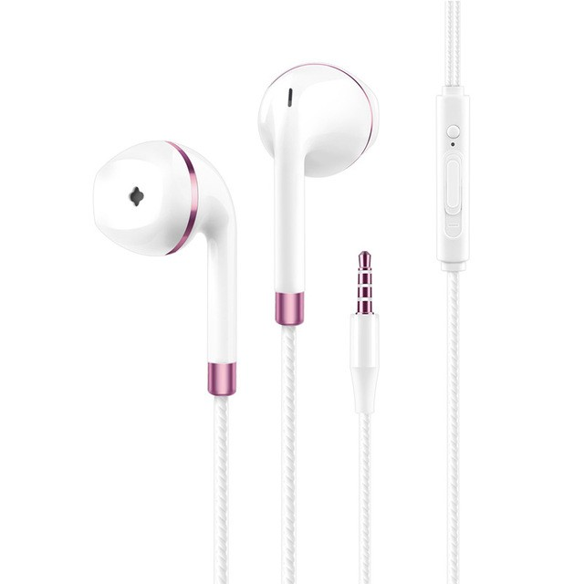 Flash Sale New in-ear earphone for iphone 5s 6s 5 xiaomi bass earbud headset Stereo Headphone For Samsung sony earpiece wired audifonos